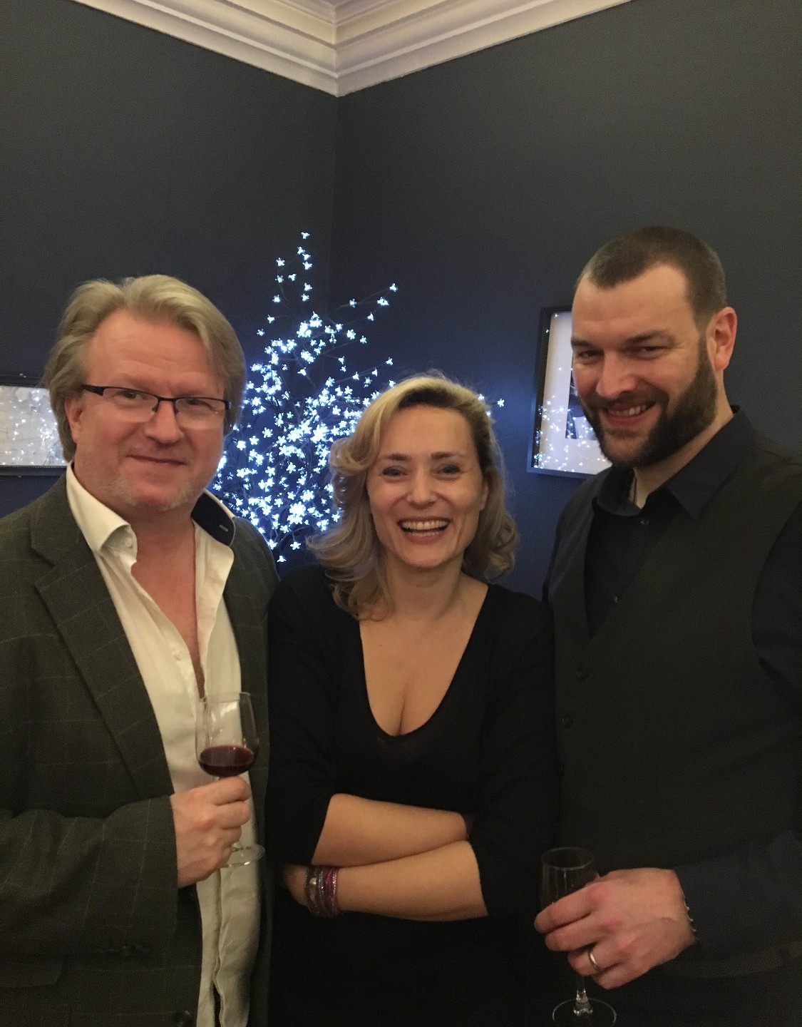Jay Johnstone (Artist), Francesca T Barbini (you know me, right?) and Robert S Malan (Luna Senior Editor and Writer).