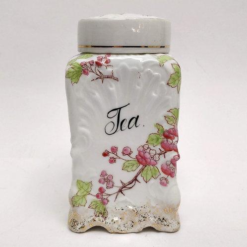 Pretty Porcelain Tea Canister