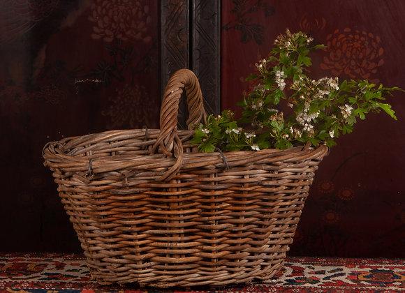 Late Victorian Potato Picker's Basket