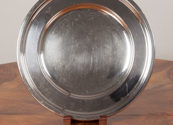 Art Deco Silver Plated Serving Tray