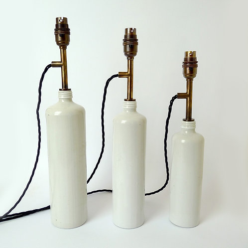 Schnapps Bottle Lamps