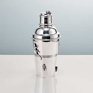 A 20th Century Art Deco Cocktail Shaker