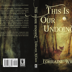 This Is Our Undoing - Cover Reveal. Art by Daniele Serra