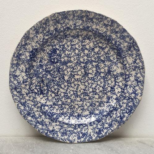 19th Century Spongeware Plate