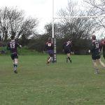 Josh Bull ends a brilliant pitch length move