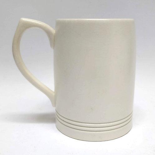 Cream Keith Murray Wedgwood 1 Pint Tankard