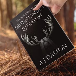 The Sub-Genres of British Fantasy Literature: Pre-Order Now!