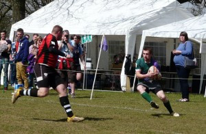 Minety RFC in action at the 2013 Minety 7s
