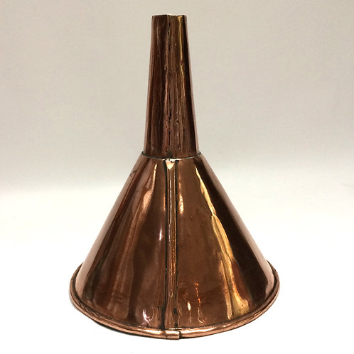 Lovely, Heavy Copper Funnel