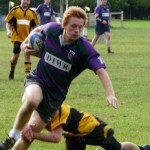 Minety speed merchant Dale Langdown in action against Tadley