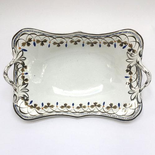 Cream Ware Spode Dish c1830