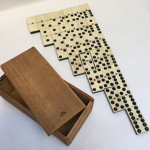 Chunky Set Of Double Six Dominoes