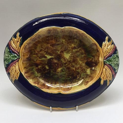 Majolica Bread Plate