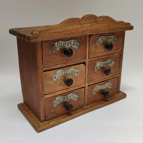 Antique Spice Cabinet