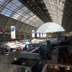 In at the Deep End: A Newbie's Account of London Book Fair 2019