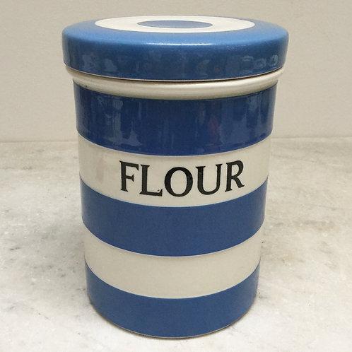 T.G. Green Cornishware Flour Jar