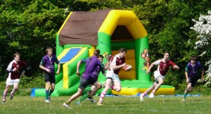 Action from last year's Minety 7s