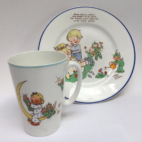 'Mabel Lucie Attwell' Shelley Mug & Plate