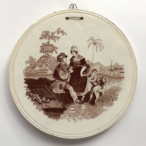 Early 19th Century Wall Plaque