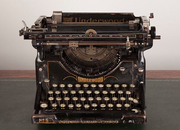 Early 20th Century Typewriter