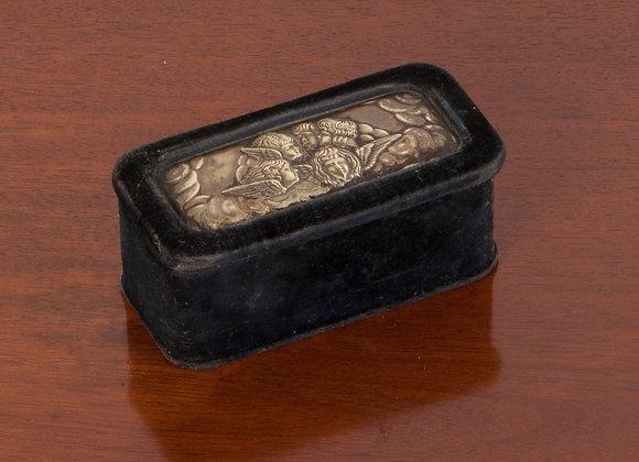 Victorian Velvet Trinket Box