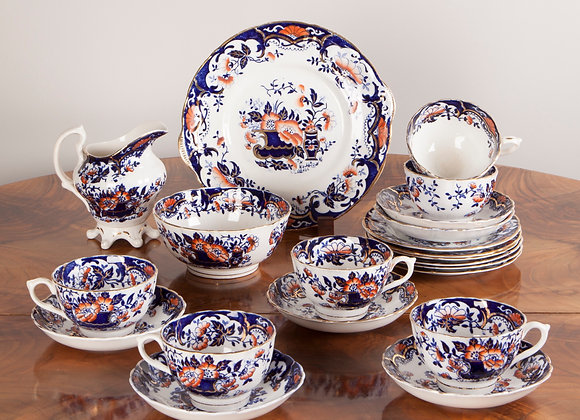 A Victorian Tea Service of 21 Pieces