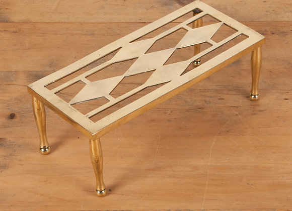 Brass Four Legged Trivet / Stand