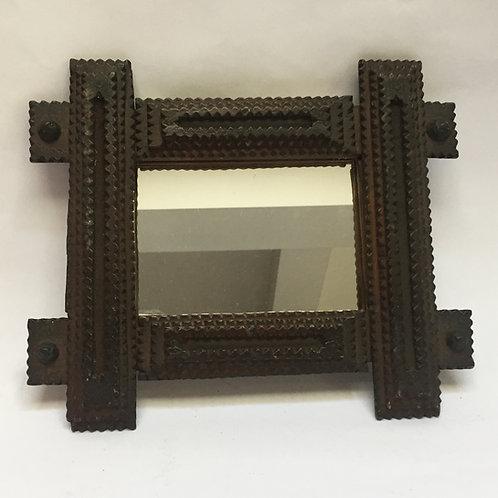 'Oxford' Tramp Art Mirror