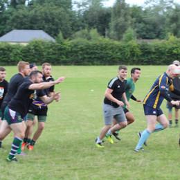 Minety Rugby Training Returns