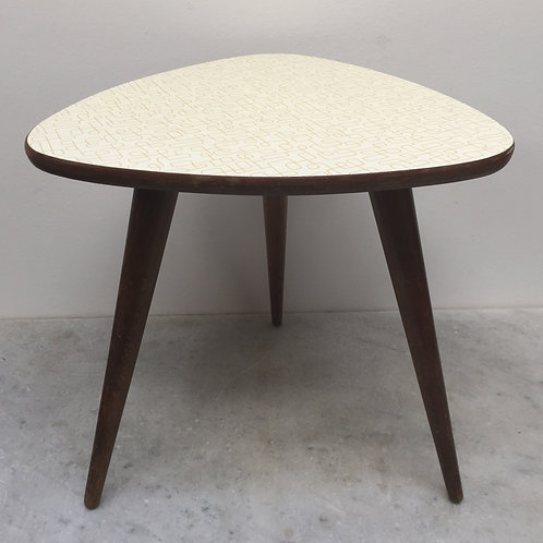 Pretty Little 60's Side Table Or Plant Table