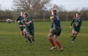 Jack Ward passes