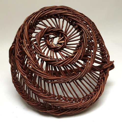 Tiny French Grape Pickers Basket