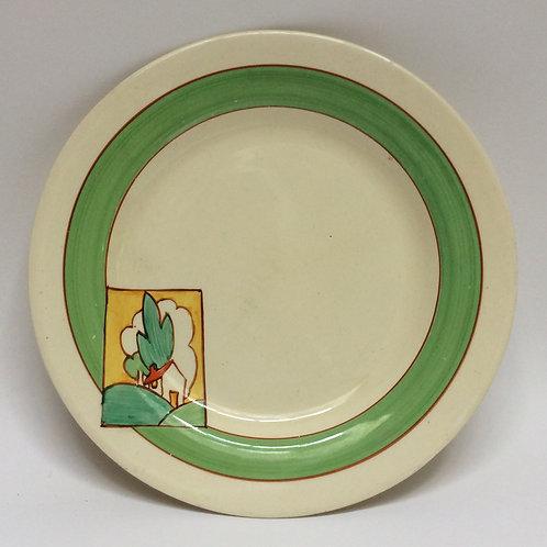Clarice Cliff Bizarre - Stroud Pattern Tea Plate