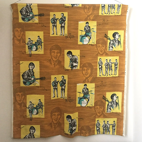 1964 Beatles Curtain
