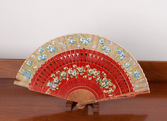 An Early 20th Century Ladies Hand Painted Fan