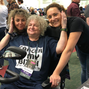 The Luna Family at Dublin Worldcon 2019