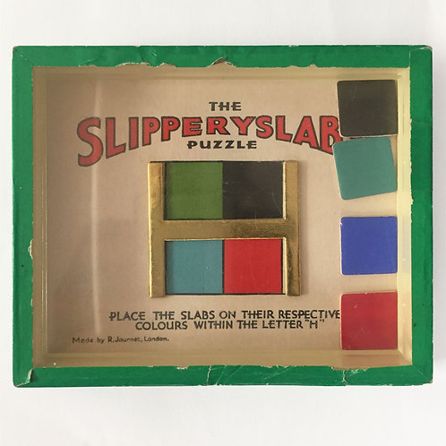 The Slipperyslabs Puzzle