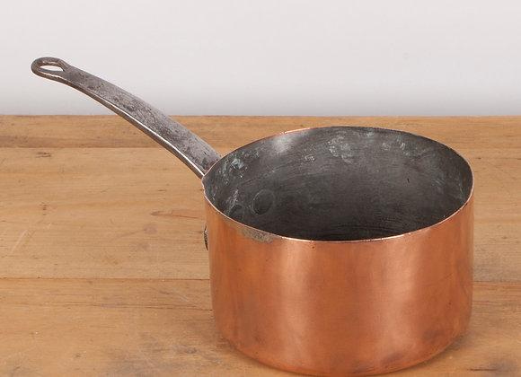 Small Victorian Copper Pan