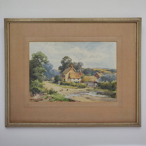 Original Watercolour By H Sylvester Stannard C1930