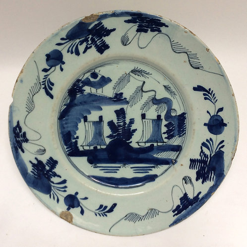 Early Dutch Delft Plate