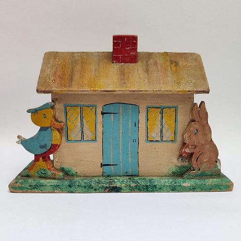 A Vintage Children's Money Box