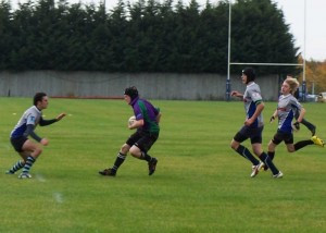 Minety Academy in action against Supermarine