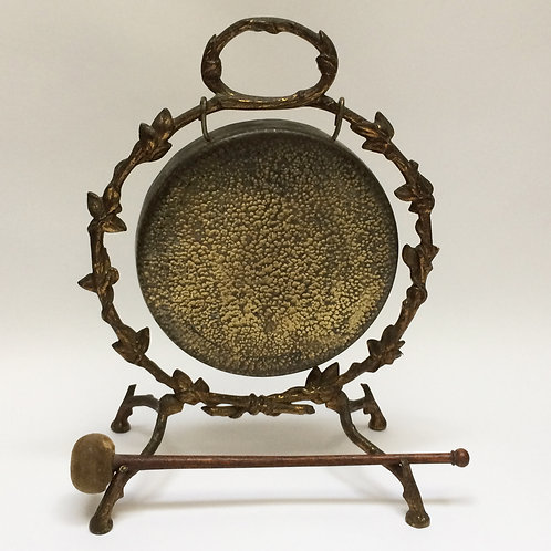 Antique Brass Dinner Gong