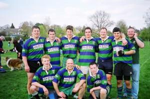 Minety's winning 7s team 2006