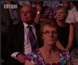 Cliff and Jane at SPOTY 2015