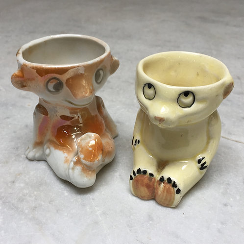 Teddy Bear Egg Cups