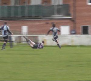 Ben Kingston dives over for try 3.