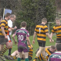 Battling Minety downed by league leaders