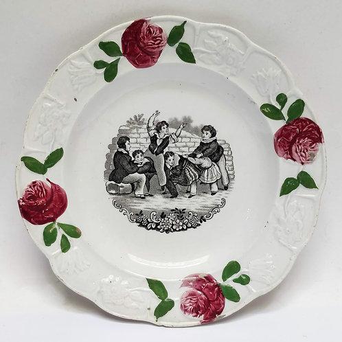 Rose Nursery Plate