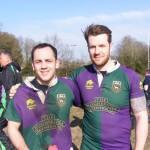 Steve and Matt - try scorers